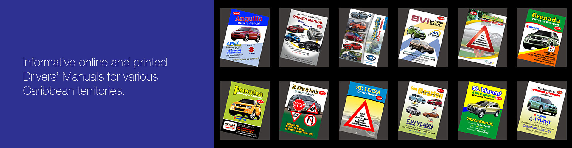 drivers manual, caribbean, territories, road, safety, information